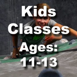 Kids Classes Age 11 to 13