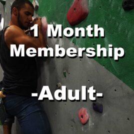 1 Month Membership – Adult